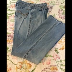 St Johns bay jeans light blue size 8 women's 🌺